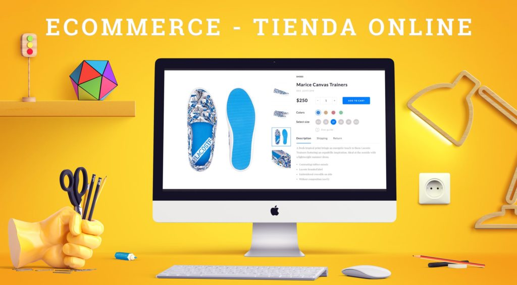 E-commerce y Tienda virtual.