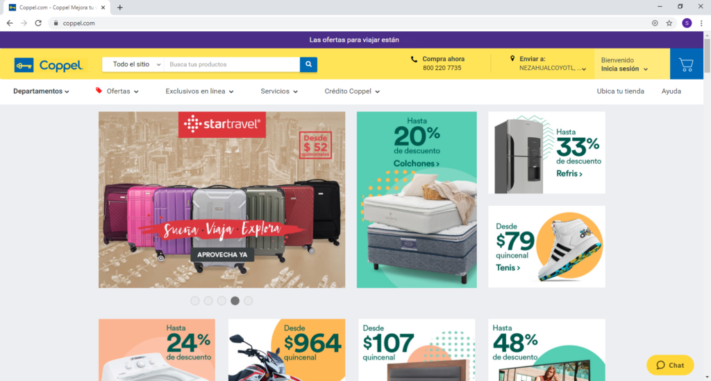 Hacer las compras en LINEA [tienda online en MEXICO] coppel