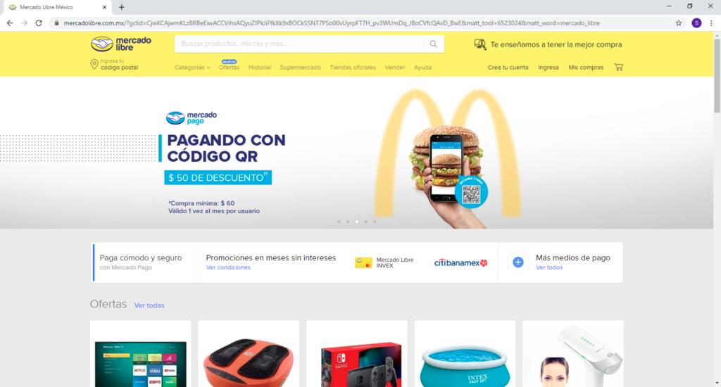 Hacer las compras en LINEA [tienda online en MEXICO] mercado libre