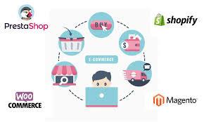 Plataformas principales para desarrollo de sitios ecommerce