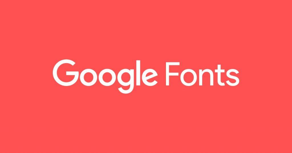 Una de las herramientas para desarrollo web, Google fonts