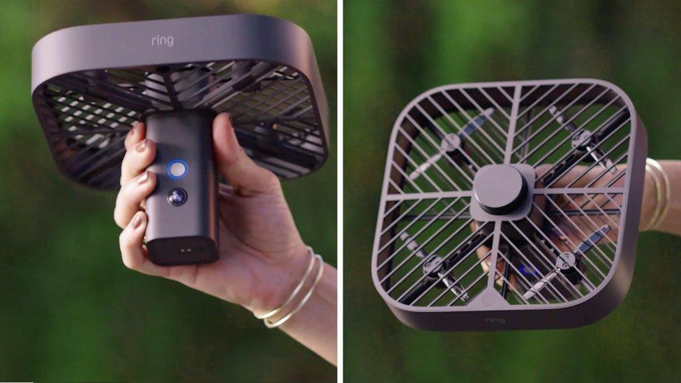 Este es un producto de Amazon drone delivery