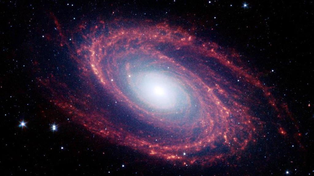descubren galaxia