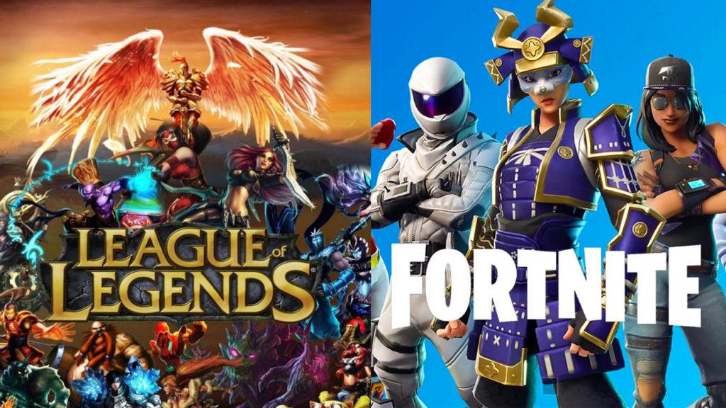 Fortnite y League of Legends en disputa con trump