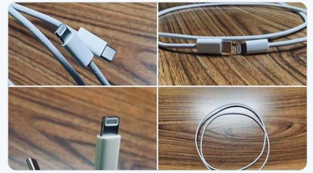 Cable trenzado iphone 12