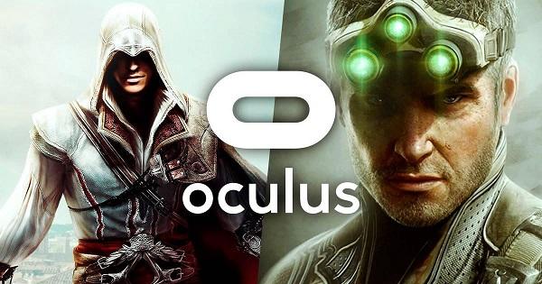 Assassin's Creed y Splinter Cell llegan a Oculus VR Quest 2