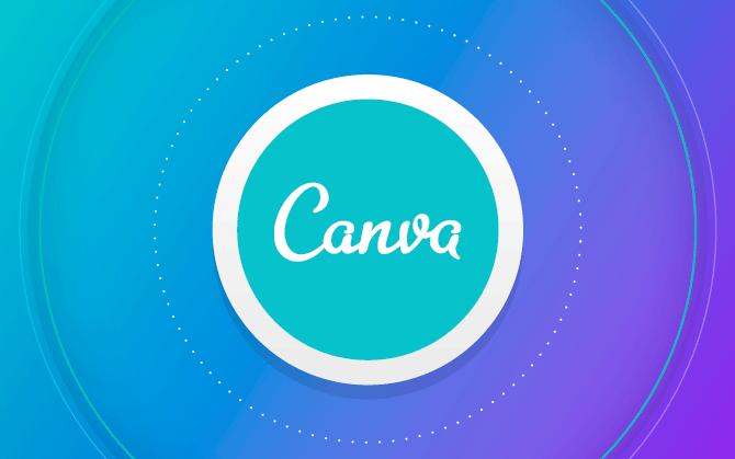 Crear imágenes con texto en canva