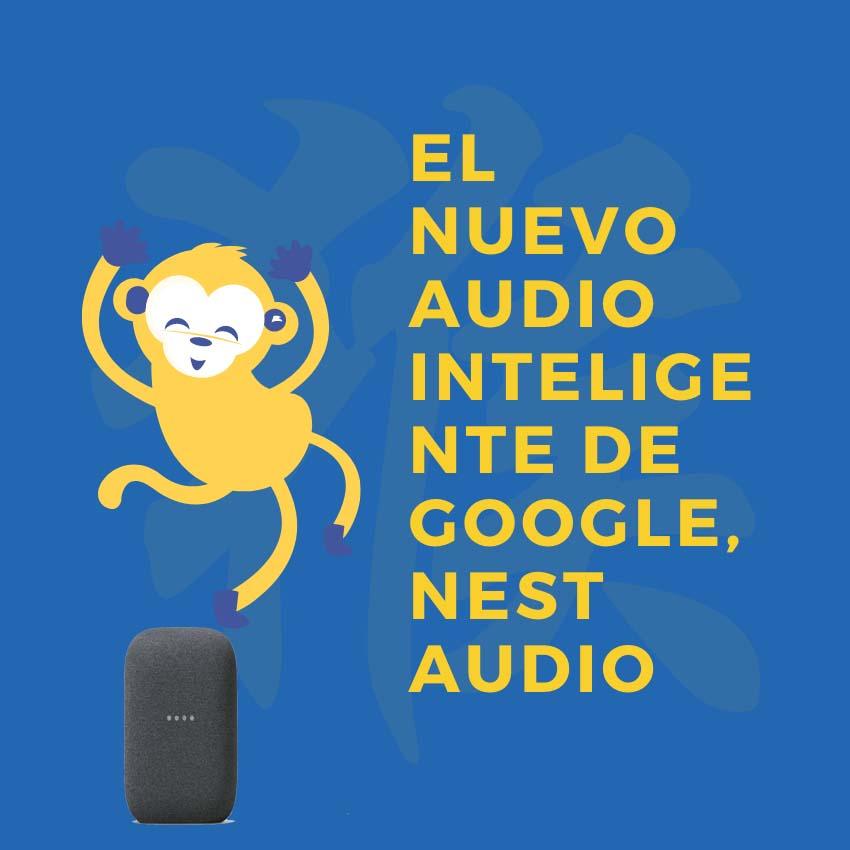 Audio inteligente Nest Audio