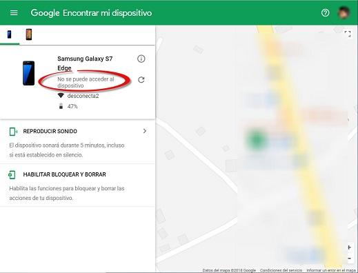 ¡Administrador de dispositivo Android Google!