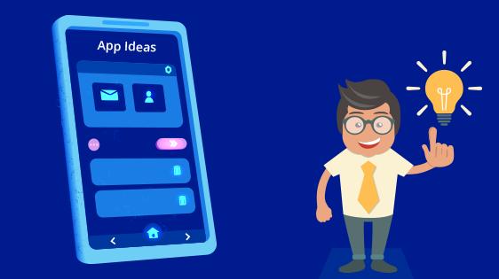 Las ideas son el comienzo de el desarrollo de apps