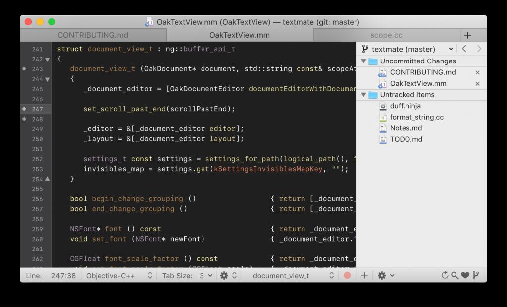 Programas para programar TexMate para editar codigo