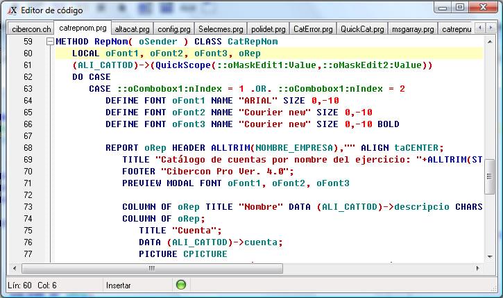 Programas para programar jEditar para editar el código