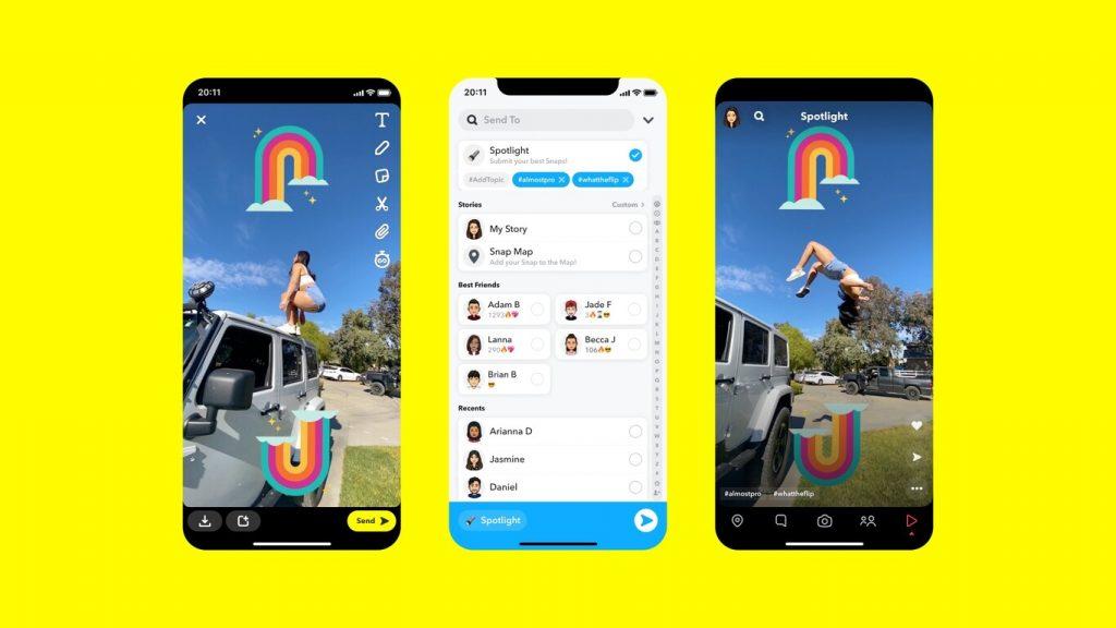 ¡Snapchat pagará un millón de dólares, el rey de los videos cortos y filtros graciosos, se pone al tú por tú a Tiktok!