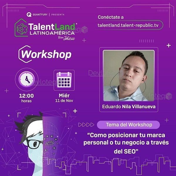 TalendLand Latinoamérica Workshop SEO