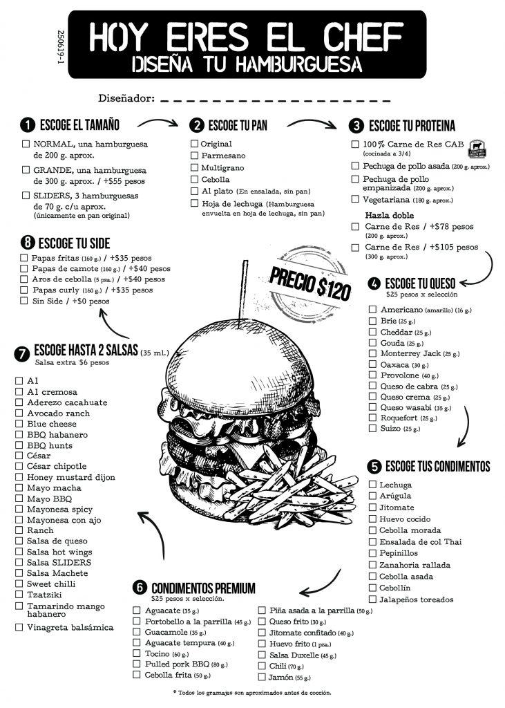Anuncios de hamburguesas y hot dog vintage