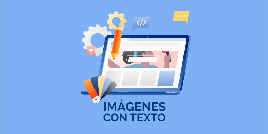 crear imágenes con texto en línea
