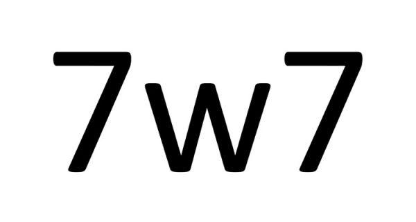 que significa 7w7 y 7_7