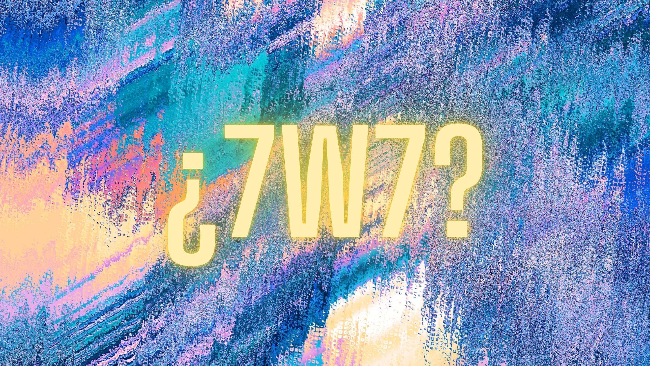 que significa 7w7